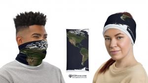 Geospatial Facemasks, GIS Facemasks, Geospatial Gaiters, GIS Gaiters - GIStees.com
