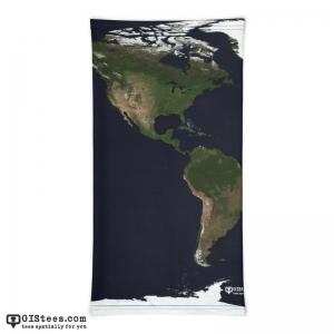 Blue Marble Americas Neck Gaiter - GIStees.com