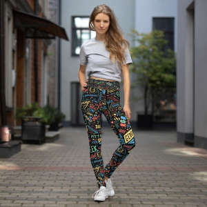 Geospatialology Yoga Leggings - GISTees.com