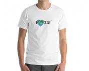 I Love GIS Short-Sleeve Tee