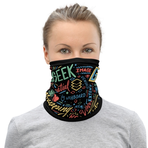 Geospatialology Neck Gaiter - GIStees.com