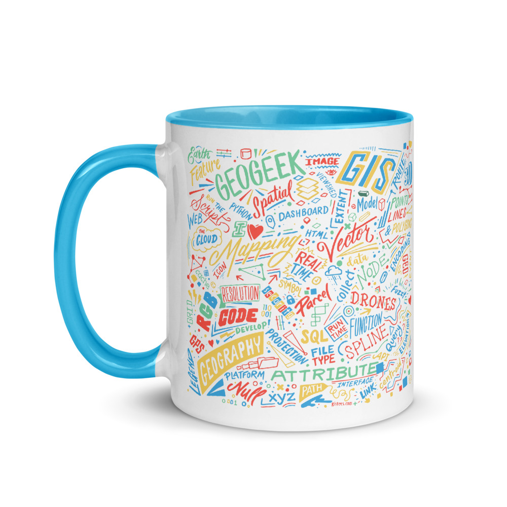 Geospatialology 11 oz. Coffee Mug - GIStees.com